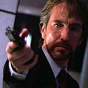 Hans Gruber is listed (or ranked) 24 on the list The Greatest Movie Villains Of All Time