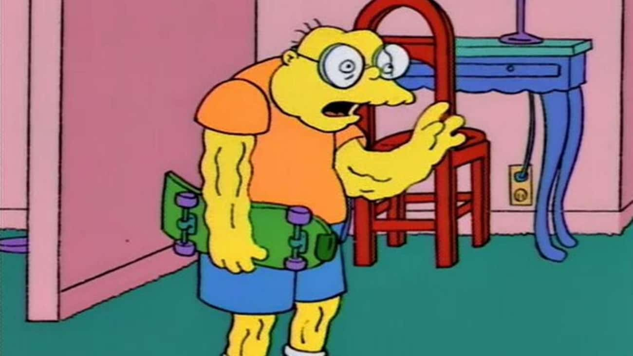 Hans Moleman Is 31 is listed (or ranked) 2 on the list Fictional Characters Who Are Way Younger Than You Think