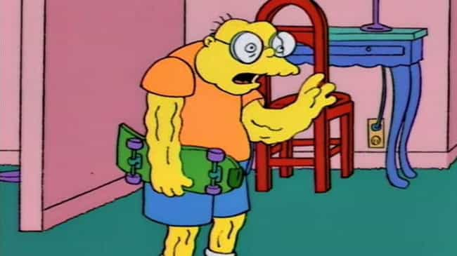 Hans Moleman is listed (or ranked) 2 on the list Fictional Characters Who Are Way Younger Than You Think