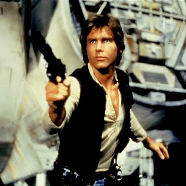 Han Solo is listed (or ranked) 1 on the list The Greatest Rebels in Movie History