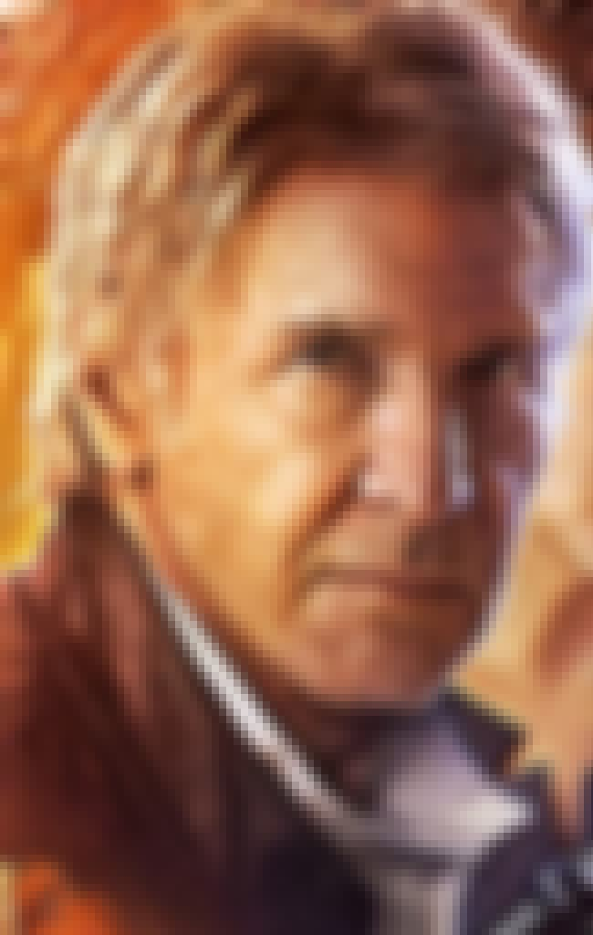 Han Solo is listed (or ranked) 2 on the list The Coolest Things in the Star Wars: Episode VII Poster