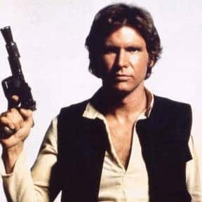 Han Solo is listed (or ranked) 5 on the list Vader to Binks: Best to Worst Star Wars Characters