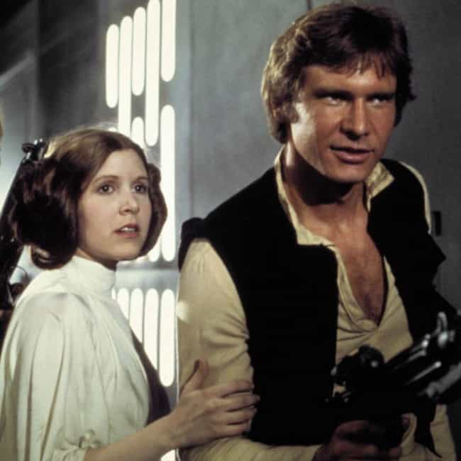 Han Solo is listed (or ranked) 3 on the list How Old Are Star Wars Characters, Really?