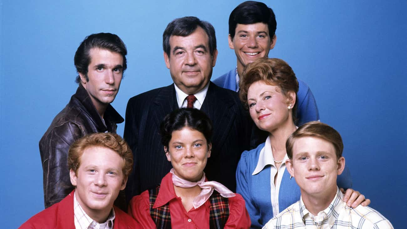 Happy Days is listed (or ranked) 2 on the list The Most Popular TV Shows Of The 1970s