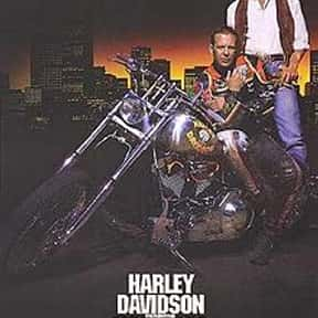 Harley Davidson and the Marlbo is listed (or ranked) 17 on the list The Best Mickey Rourke Movies