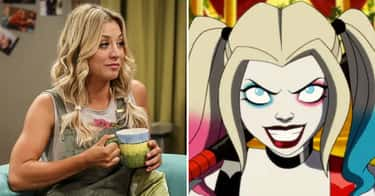 Kaley Cuoco - Harley Quinn is listed (or ranked) 2 on the list 'Harley Quinn' Actors Vs. The Characters They Voice