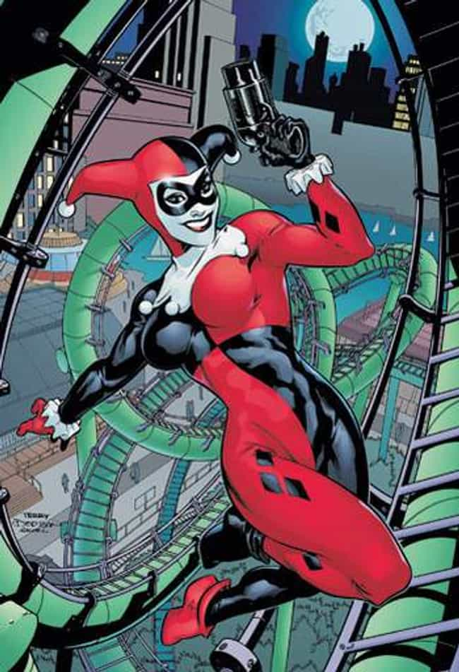Harley Quinn is listed (or ranked) 4 on the list The Craziest Comic Book Characters, Ranked