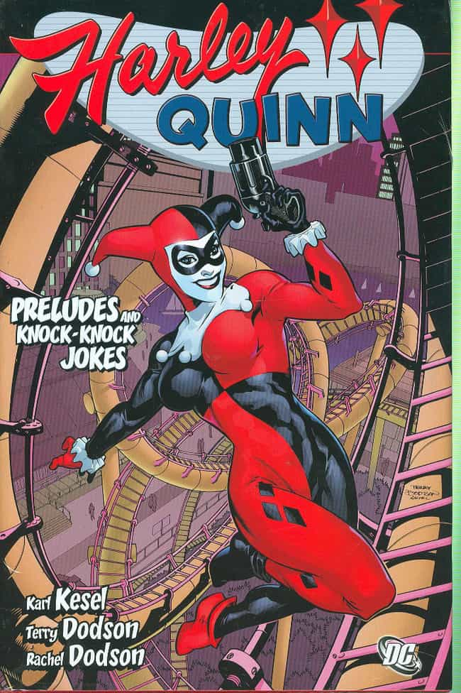 Harley Quinn is listed (or ranked) 1 on the list Comic Book Characters That Debuted Outside Comics
