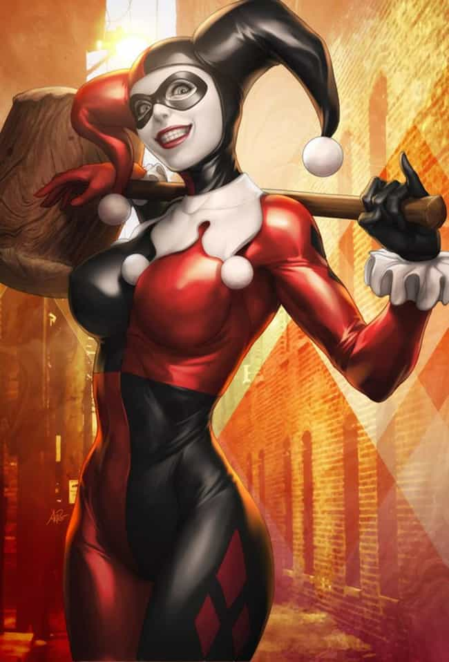 Harley Quinn is listed (or ranked) 3 on the list The Hottest DC Comics Supervillains