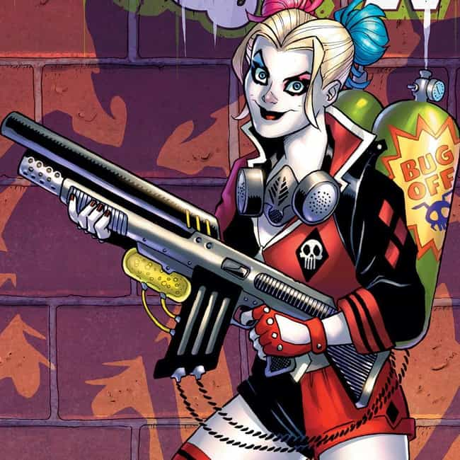 Harley Quinn is listed (or ranked) 2 on the list The Best Comic Book Characters Who Have Blue Eyes