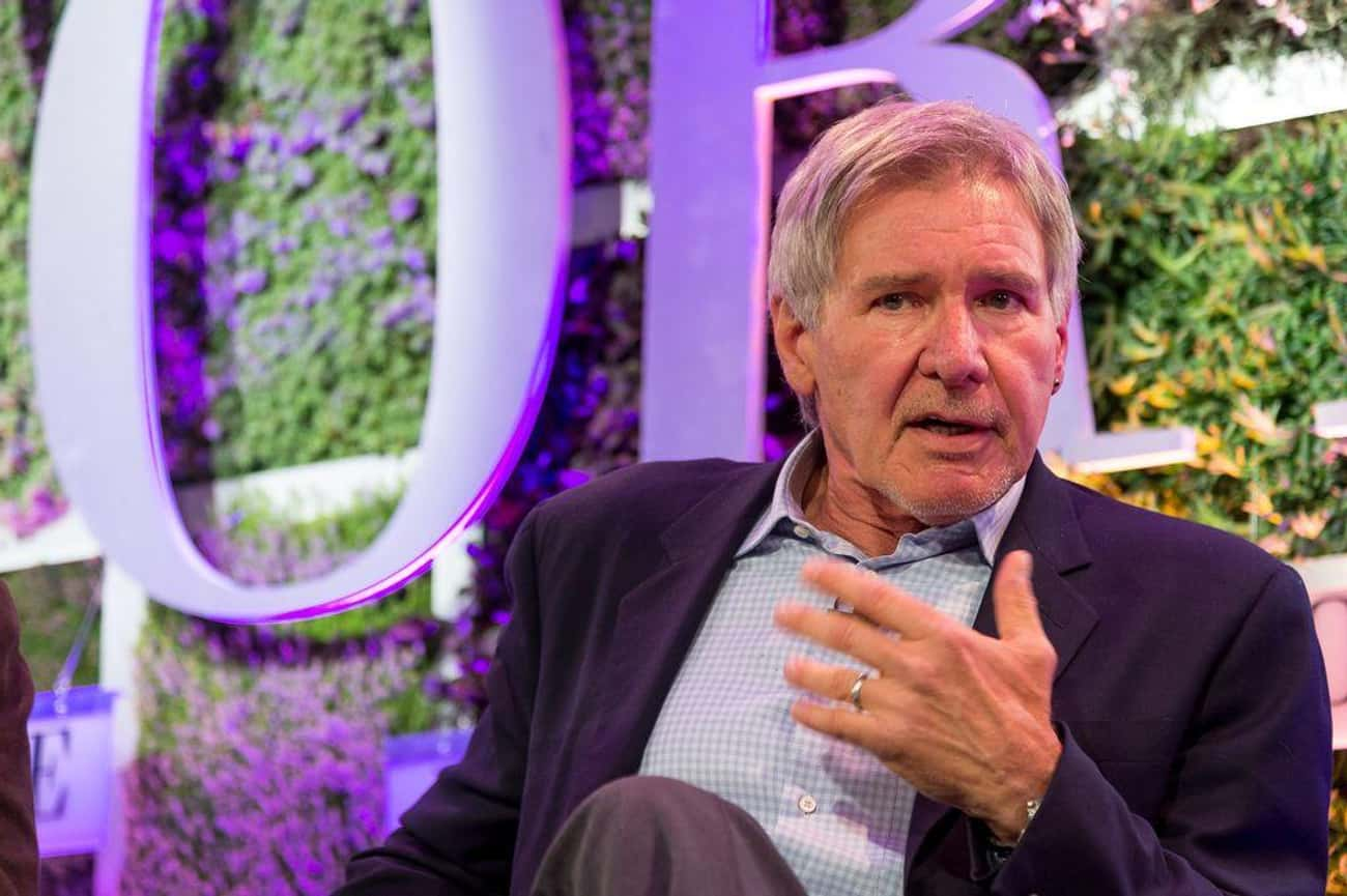 Harrison Ford is listed (or ranked) 3 on the list 16 Celebrities Who Divorced After Age 60