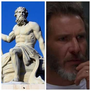 Poseidon - Harrison Ford is listed (or ranked) 1 on the list Who Would Play The Greek Gods And Goddesses If They Were Cast In The '90s?
