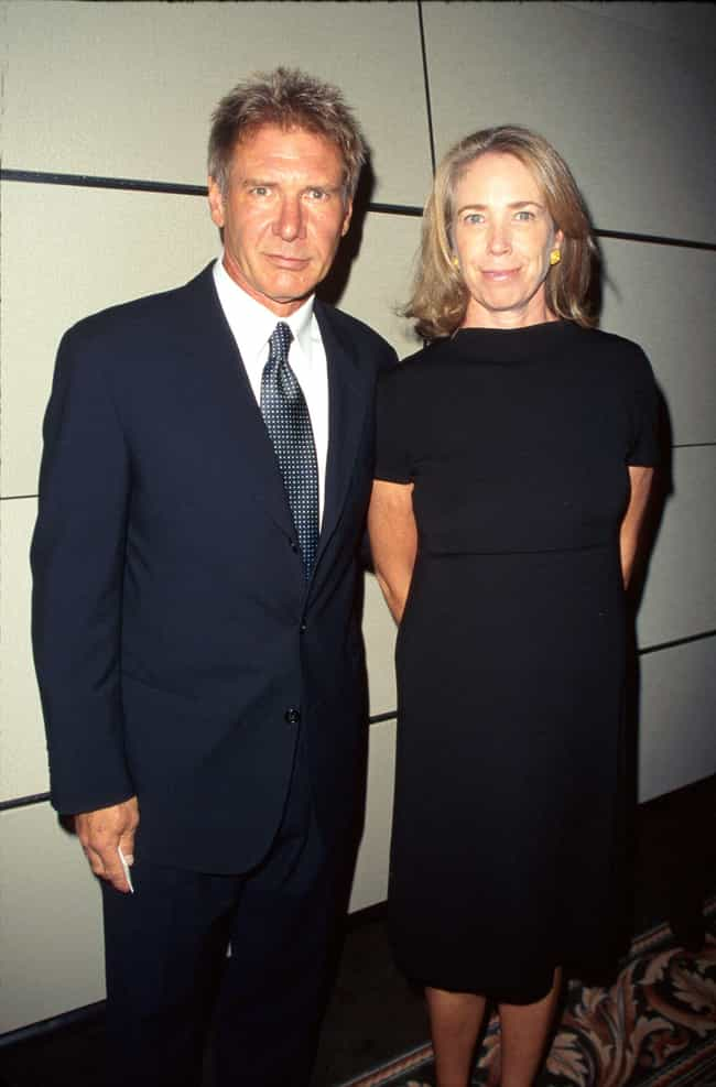 Harrison Ford is listed (or ranked) 3 on the list 20 Famous Long-Term Couples That Split