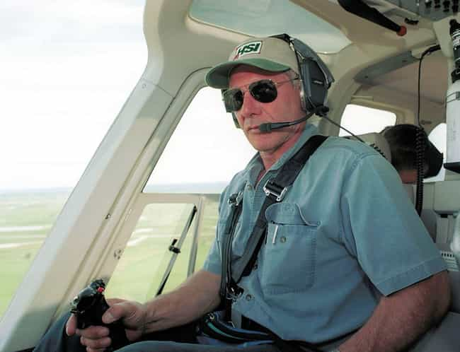 Harrison Ford is listed (or ranked) 4 on the list Celebrities Who Own Helicopters
