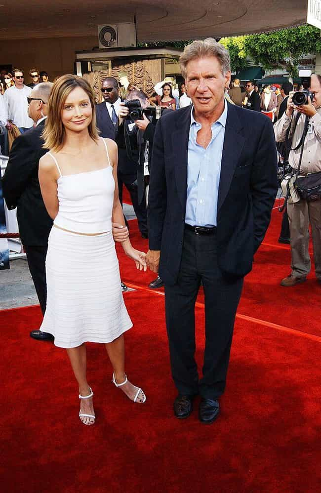 Harrison Ford is listed (or ranked) 3 on the list Famous Men Who Married Much Younger Women