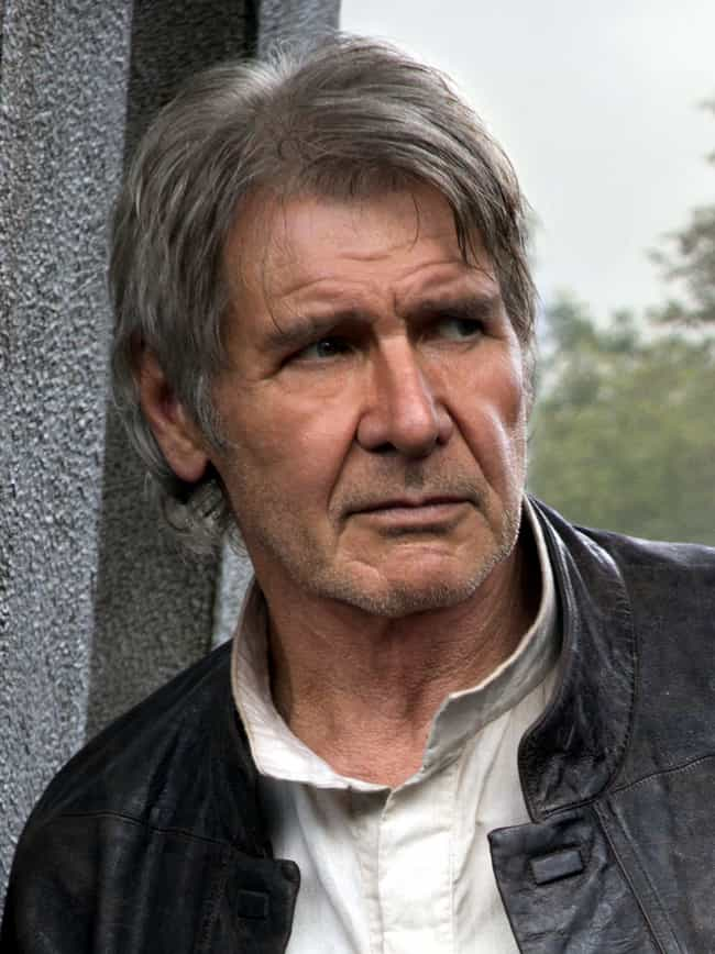Harrison Ford is listed (or ranked) 2 on the list 10 Actors Who Actually Requested To Have Their Characters Killed Off