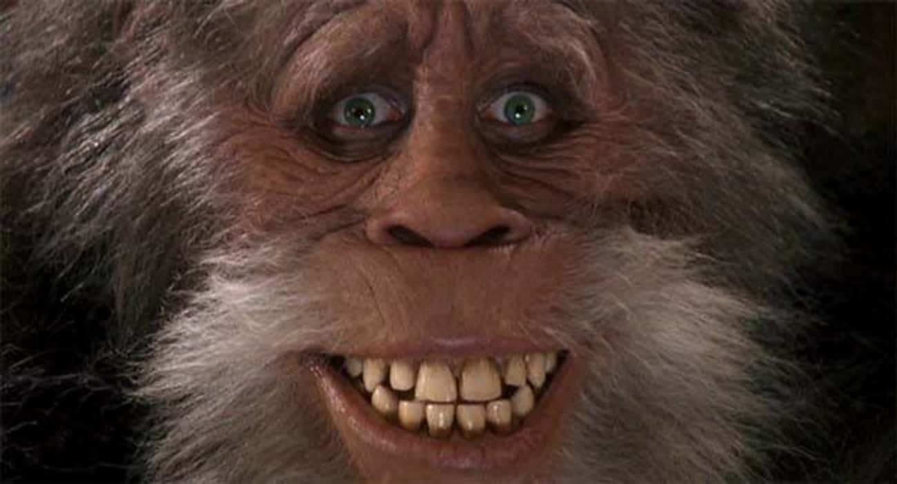 The Titular Bigfoot From 'Harr is listed (or ranked) 4 on the list Monster Master Rick Baker's Creature Creations, Ranked