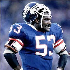 Harry Carson is listed (or ranked) 2 on the list The Best New York Giants Linebackers of All Time