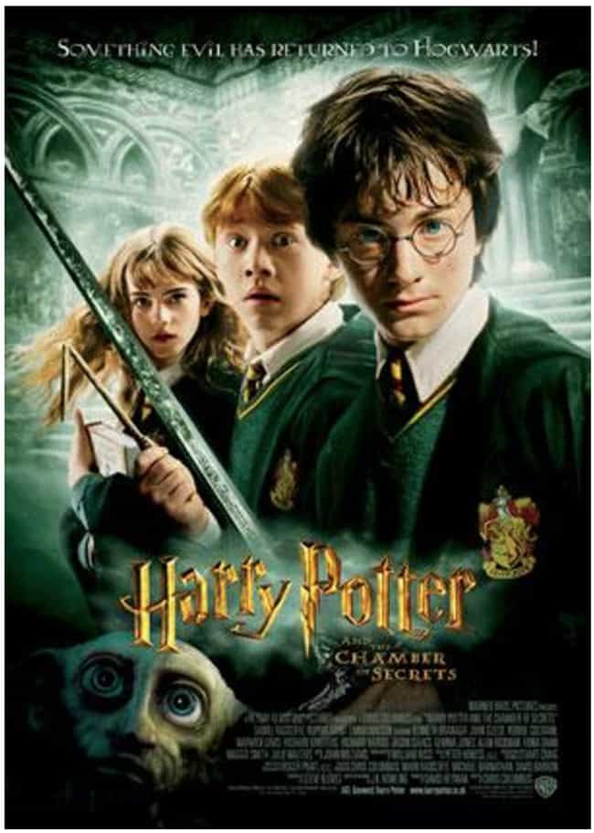 Harry Potter and the Cha... is listed (or ranked) 3 on the list All Harry Potter Movies, Ranked Best to Worst