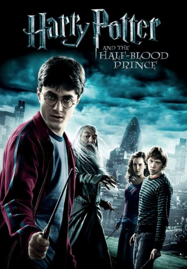 Harry Potter and the Hal... is listed (or ranked) 3 on the list All Harry Potter Movies, Ranked Best to Worst