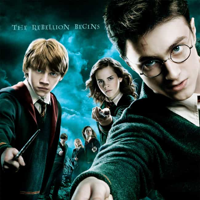 Harry Potter and the Order of ... is listed (or ranked) 4 on the list All Harry Potter Movies, Ranked Best to Worst