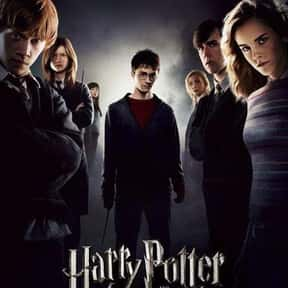 Harry Potter and the Order of  is listed (or ranked) 6 on the list The Best Robert Pattinson Movies