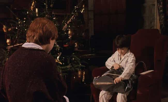 Harry Potter and the Sorcerer'... is listed (or ranked) 2 on the list The Best Christmas Scenes In Non-Christmas Movies