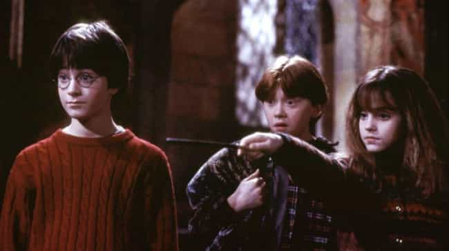 Harry Potter and the Sor... is listed (or ranked) 2 on the list 18 Authors Who Loved the Movie Adaptations of Their Books