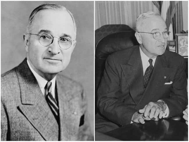 Harry S. Truman is listed (or ranked) 6 on the list U.S. Presidents Before and After Major Historical Events