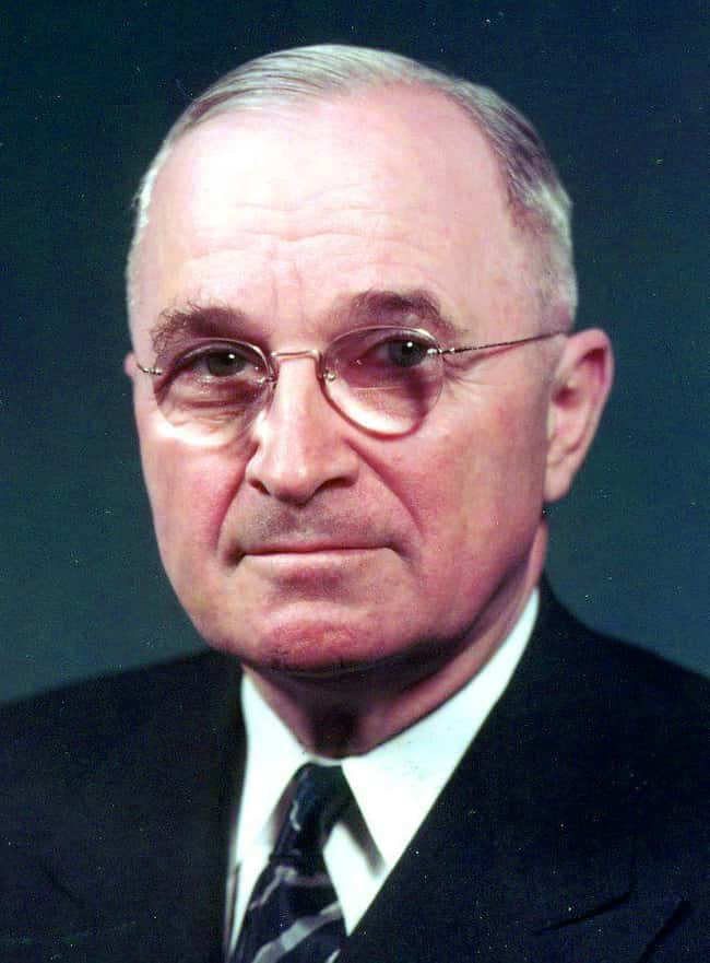 Harry S. Truman is listed (or ranked) 32 on the list Every U.S. President & Every Medical Problem They've Ever Had