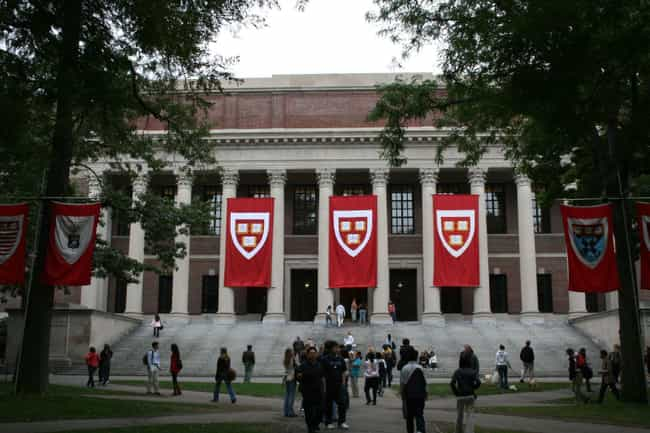 Harvard University is listed (or ranked) 1 on the list All Ivy League Colleges Ranked