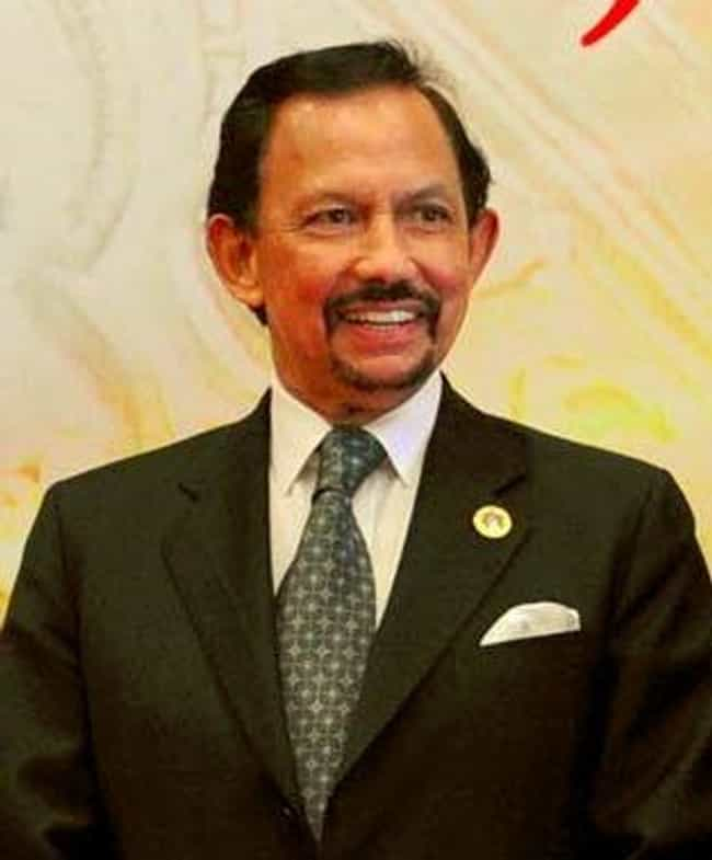 Hassanal Bolkiah is listed (or ranked) 2 on the list Richest Royals in the World