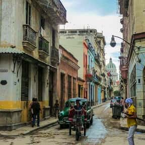 Havana is listed (or ranked) 23 on the list The Top Party Cities of the World