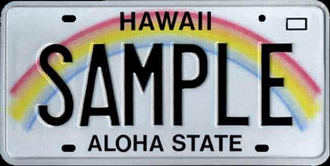 Hawaii is listed (or ranked) 2 on the list Every State License Plate Design, Ranked By How Much You Wish It Was On Your Ride