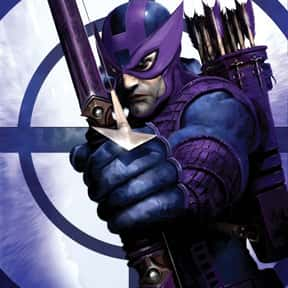 Hawkeye is listed (or ranked) 21 on the list The Top Marvel Comics Superheroes