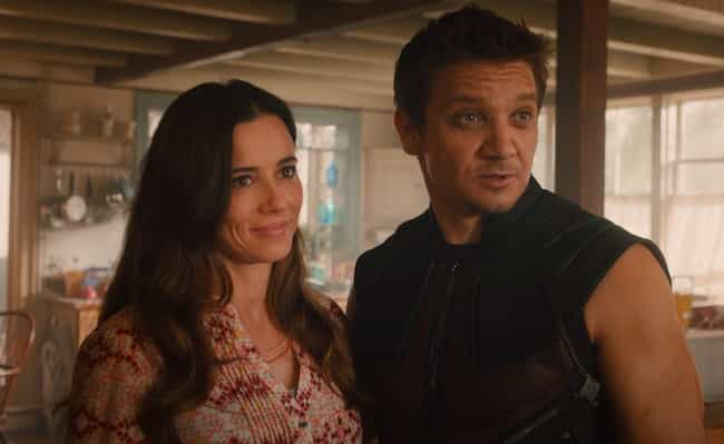 Hawkeye is listed (or ranked) 4 on the list The Best Romantic Relationships In The MCU