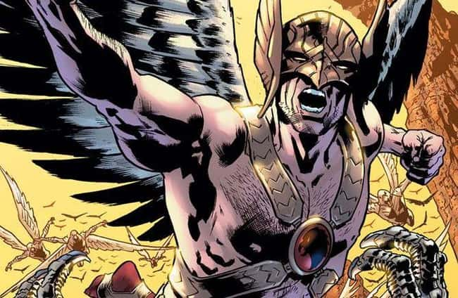 10. In 1940, Hawkman first appeared in Flash Comics #1, making him one of DC Comics' oldest heroes. Over the past 80 years, his iconic costumes have become iconic. It's just that under that harness, he should be wearing a shirt! There's something about metal on skin that doesn't seem right.