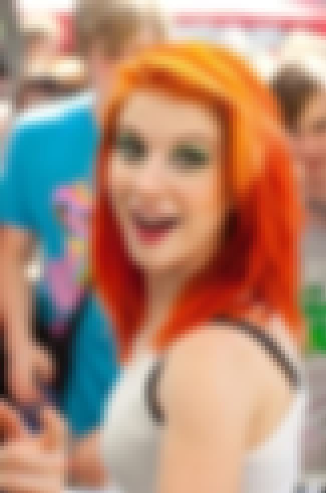 Hayley Williams is listed (or ranked) 2 on the list The Hottest Women with Brightly Colored Hair