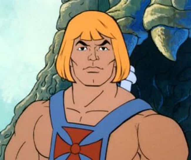 He-Man is listed (or ranked) 4 on the list The Worst Haircuts Ever Sported by Superheroes