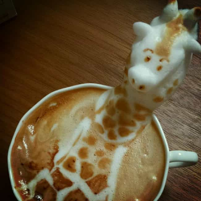 Kazuki Yamamoto is listed (or ranked) 4 on the list 51 Works of Latte Art You'll Never Want to Drink Away