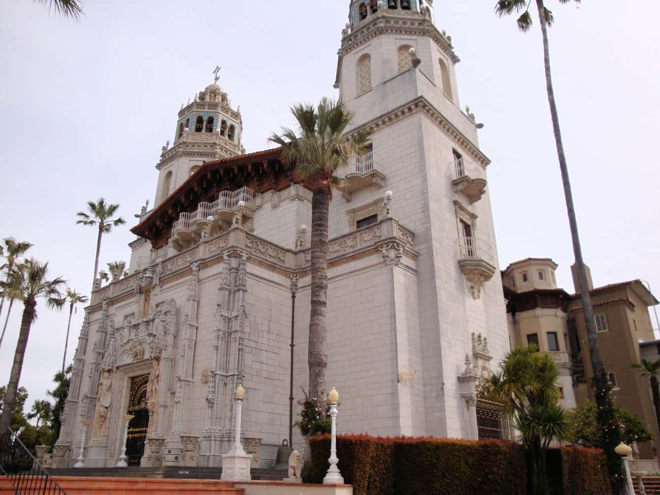 Hearst Castle Once Housed The  is listed (or ranked) 2 on the list The Most Unbelievably Excessive Homes In US History