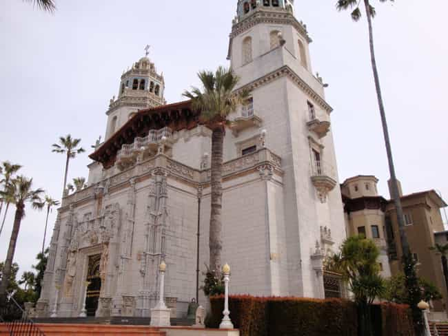 Hearst Castle is listed (or ranked) 2 on the list The Most Unbelievably Excessive Homes In US History