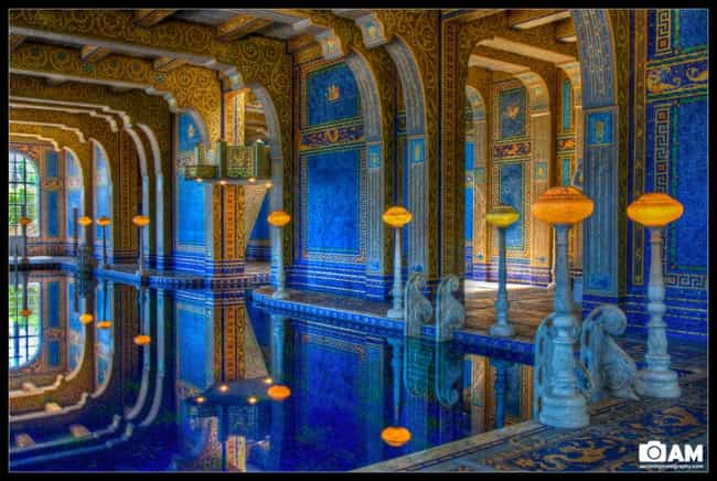 Hearst Castle is listed (or ranked) 7 on the list The 35 Coolest Pools in the World