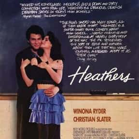Heathers is listed (or ranked) 17 on the list The Greatest Teen Movies of the 1980s