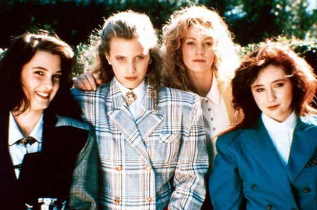 Heathers is listed (or ranked) 4 on the list The Sexiest Movie Casts from the 80s