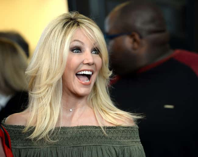 Heather Locklear is listed (or ranked) 71 on the list The Most Captivating Celebrity Eyes (Women)