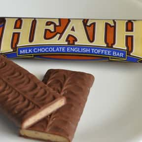 Heath bar is listed (or ranked) 20 on the list The Best Chocolate Bars