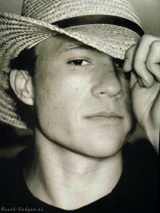 Heath Ledger is listed (or ranked) 1 on the list Hot Celebrity Guys in Cowboy Hats