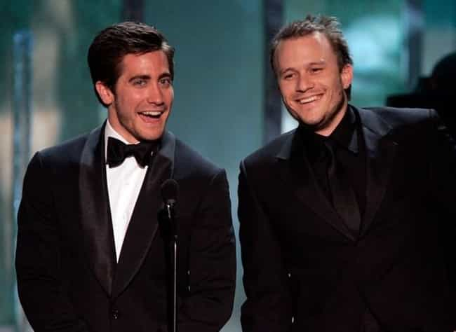 Heath Ledger is listed (or ranked) 4 on the list Famous Friends of Jake Gyllenhaal