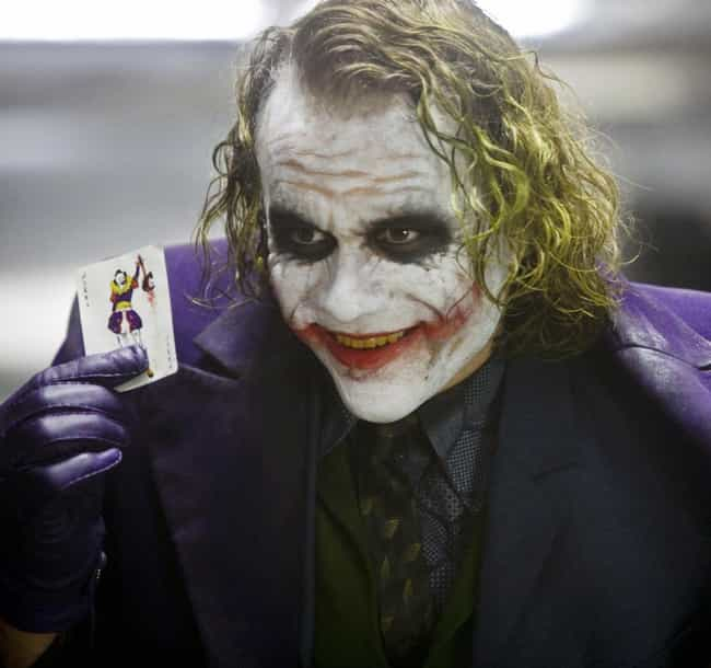 Heath Ledger is listed (or ranked) 1 on the list All 20+ Actors Who Played Joker, Ranked Best To Worst By Fans